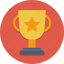 award, cup, pedestal, prize, skill, trophy, winner icon