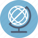 earth, global, internet, planet, school, seo, world icon