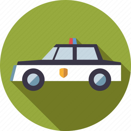 Car, crime, justice, law, police, police car, vehicle icon - Download on Iconfinder