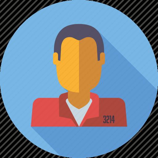 Crime, criminal, inmate, justice, law, prisoner icon - Download on Iconfinder