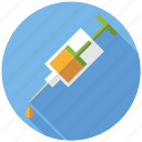 drugs, injection, medicine, pharmaceutics, syringe icon