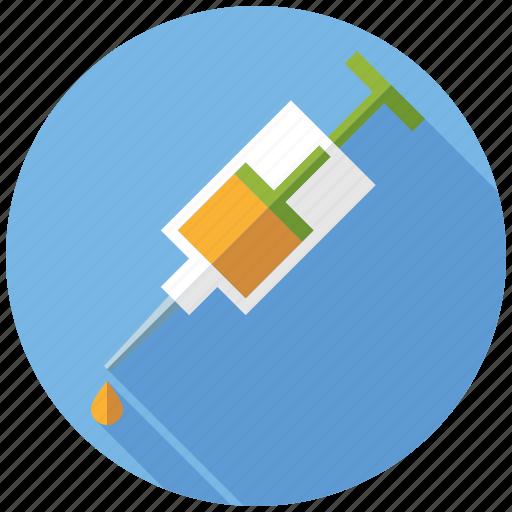 drugs, injection, medicine, pharmaceutics, syringe icon