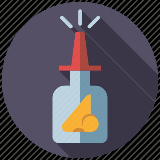 bottle, drugs, medicine, nasal spray, pharmaceutics icon