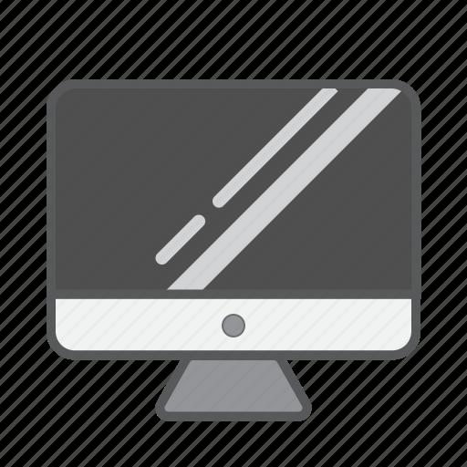 apple computer, desktop, flat desktop, imac, macintosh, retina mac icon