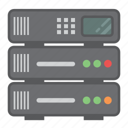 amazon web services, cloud computing, cloud server, database, server, server rack, tech icon