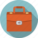 briefcase, business, businessman, case, portfolio, suitcase, work icon
