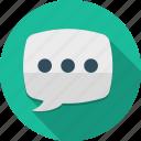 bubble, chat, communication, conversation, message, speech, talk