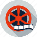 camera, cinema, film, media, movie, reel, video icon