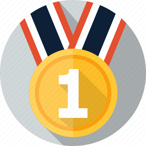 achievement, award, emblem, medal, prize, win, winner icon