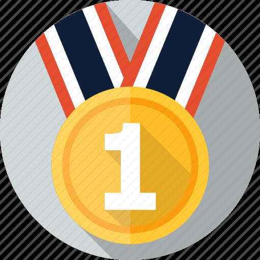 Achievement, award, emblem, medal, prize, win, winner icon ...