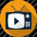 antenna, media, movie, set, television, tv, video