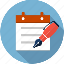 checklist, list, pen, pencil, survey icon