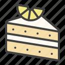 mascarpone, lemon, cake, pie, tart