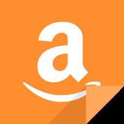 amazon, amazon logo, communication, social media, social network icon