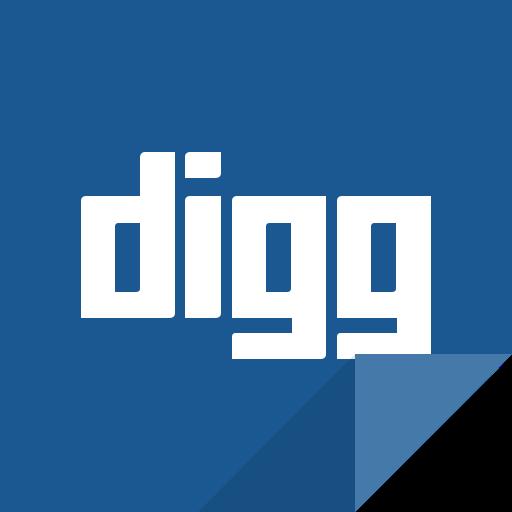 communication, digg, digg logo, social media, social network icon
