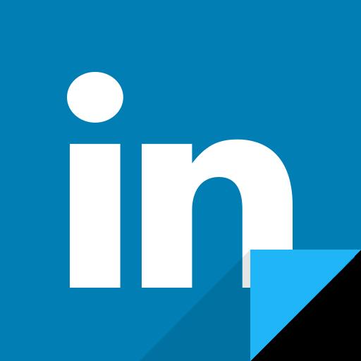 communication, linkedin, linkedin logo, social media, social network icon