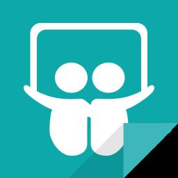 communication, slideshare, slideshare logo, social media, social network icon