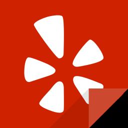 communication, social media, social network, yelp, yelp logo icon