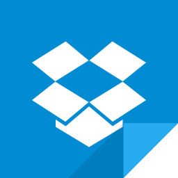 dropbox, dropbox logo icon