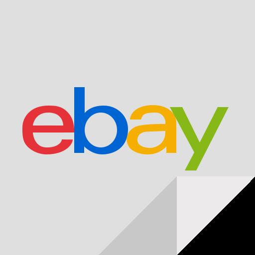 e commerce, ebay, ebay logo icon