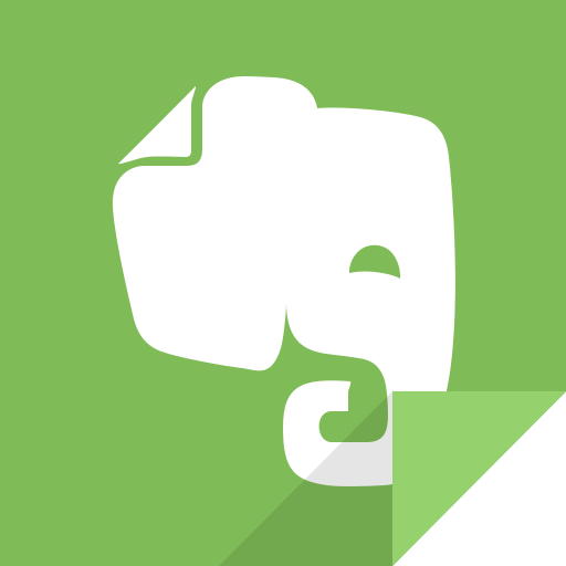 evernote, evernote logo icon