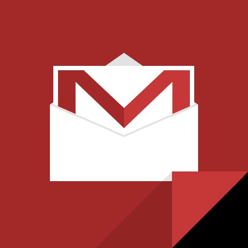 communication, gmail, google mail, google mail logo icon