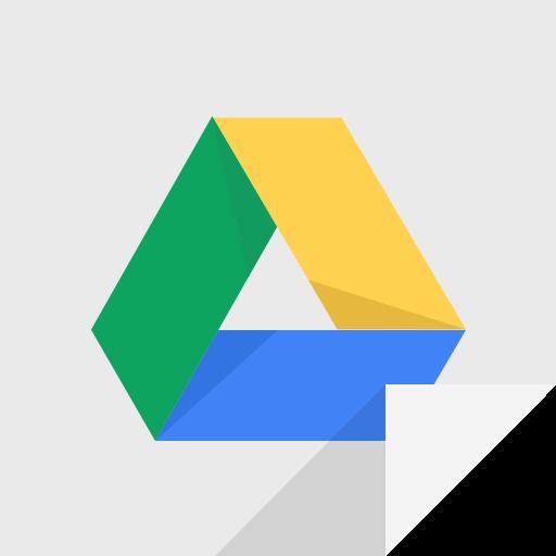 communication, drive, google, google drive logo icon