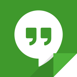 communication, hangouts, hangouts logo icon