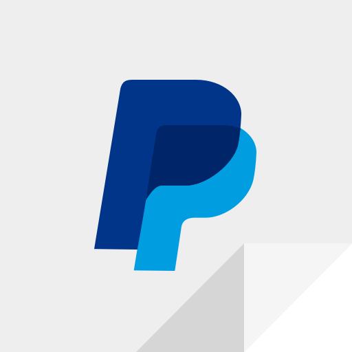 e commerce, payment, paypal, paypal logo icon