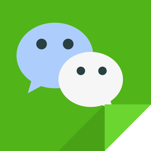 communication, wechat, wechat logo icon