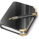 diary, notebook, notes icon