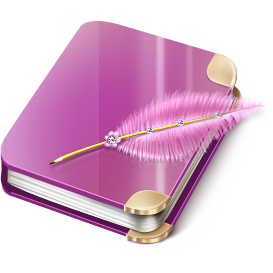 diary, notebook icon