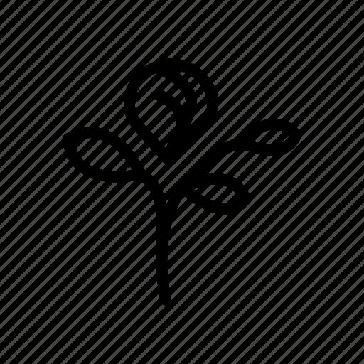 flower, green, leaf, nature, spring, stalk icon