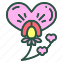 blossom, floral, flower, pea, sweet icon