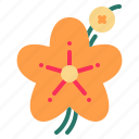 apple, blossom, floral, flower, nature icon