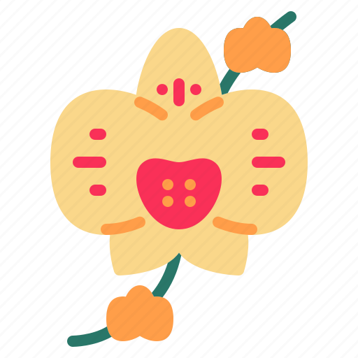 blossom, floral, flower, nature, orchid icon