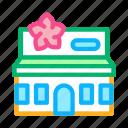 boutique, building, floral, flower, present, shop, store