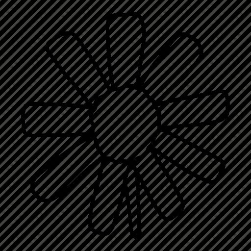 eco, flower, nature, plant icon
