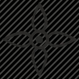bud, flower, gothic, nature icon