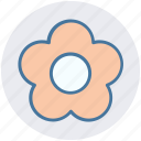 floral, flower, garden flower, nature, plant icon