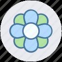 floral, florist, flower, garden flower, plant icon