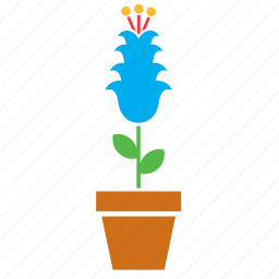 decoration, floral, flower, flowerpot, garden, nature icon