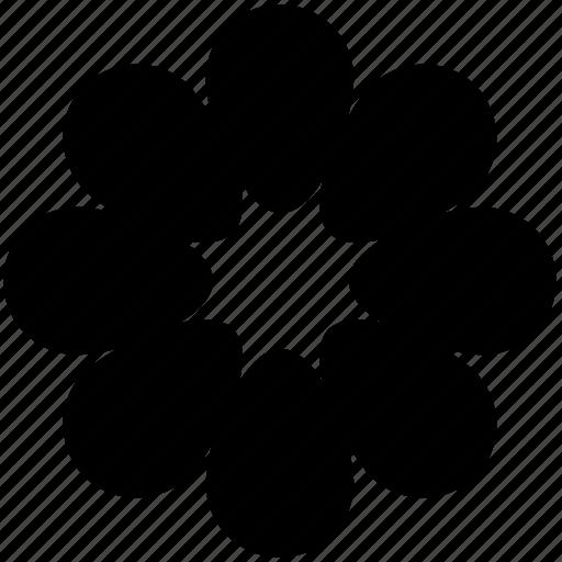 creative, creative design, creative flower, flower, flower design icon