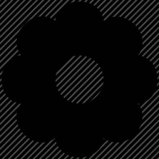 creative, flower, round petals flower icon