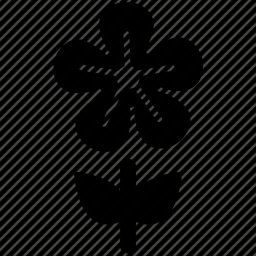flower, natural, nature, pretty, stem flower icon