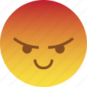 angry, emoji, mad, rage, react, smile, taunt icon