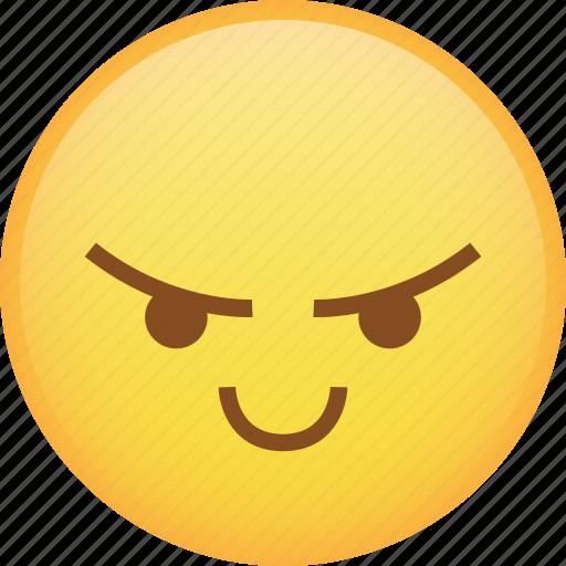 angry, emoji, mad, rage, react, smile, taunt icon