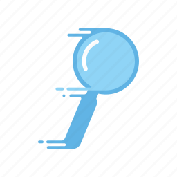 fast, magnifying glass, motion, searching, speed, streak icon