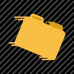 archive, fast, file, folder, motion, speed, streak icon