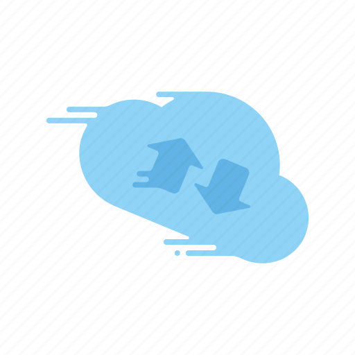 cloud, download, fast, motion, speed, streak, upload icon